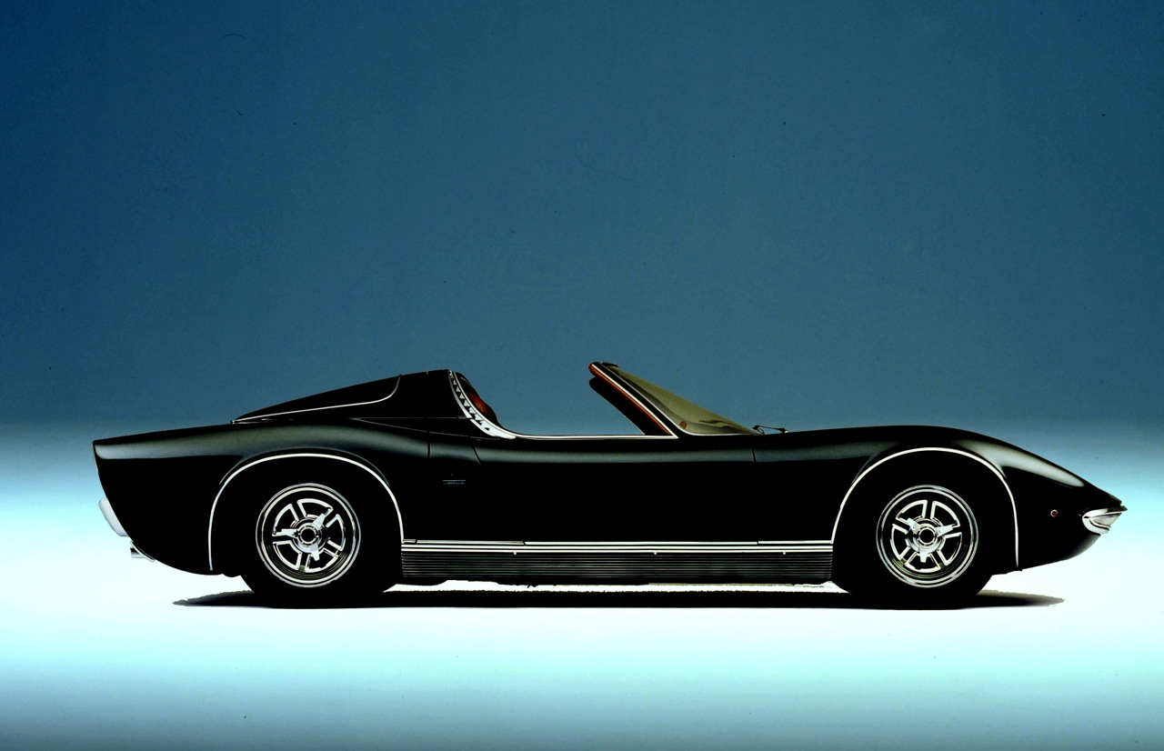Lamborghini Miura Roadster One Of One Car Guy Chronicles