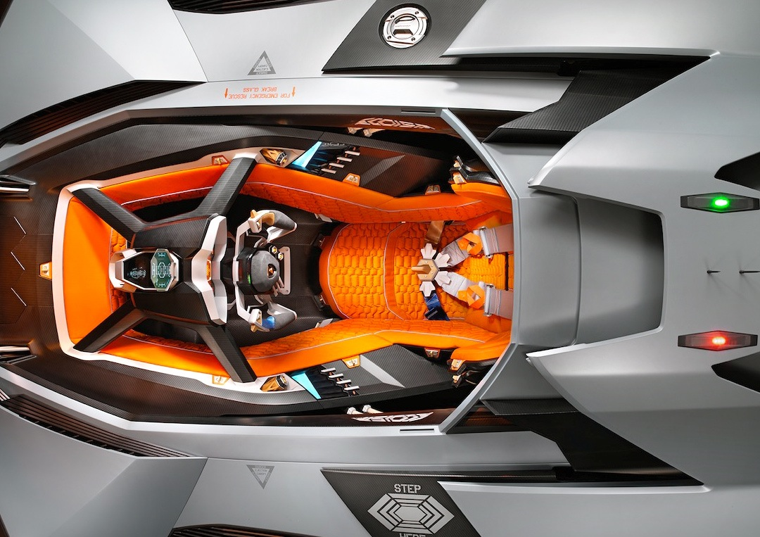 Lamborghini Egoista 600 Hp Ego Booster Car Guy Chronicles