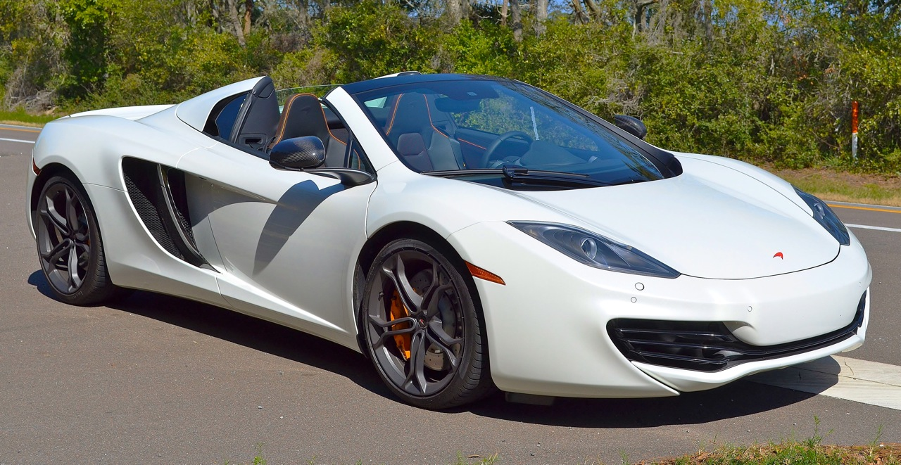 Used Challengers For Sale >> Mclaren Mp4 C Spyder Water Car - letsridenow.com