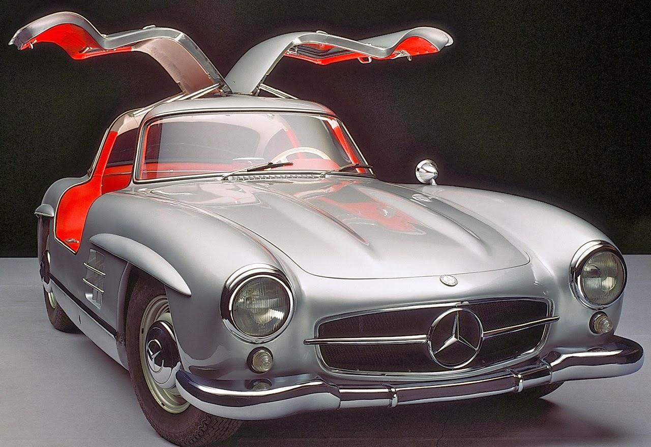 mercedes-benz 300sl gullwing: '50s hot rod! - car guy chronicles
