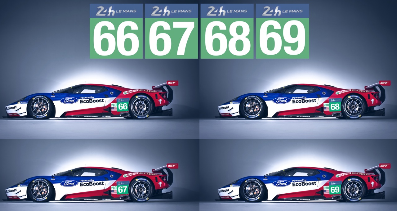 The organizers of the Le Mans 24 Hours the ACO (Automobile Club de lu0027Ouest) today confirmed that all four Ford GTs have received a place on the ...  sc 1 st  Car Guy Chronicles & FORD GT: FOUR-CAR TEAM FOR LE MANS! - Car Guy Chronicles markmcfarlin.com