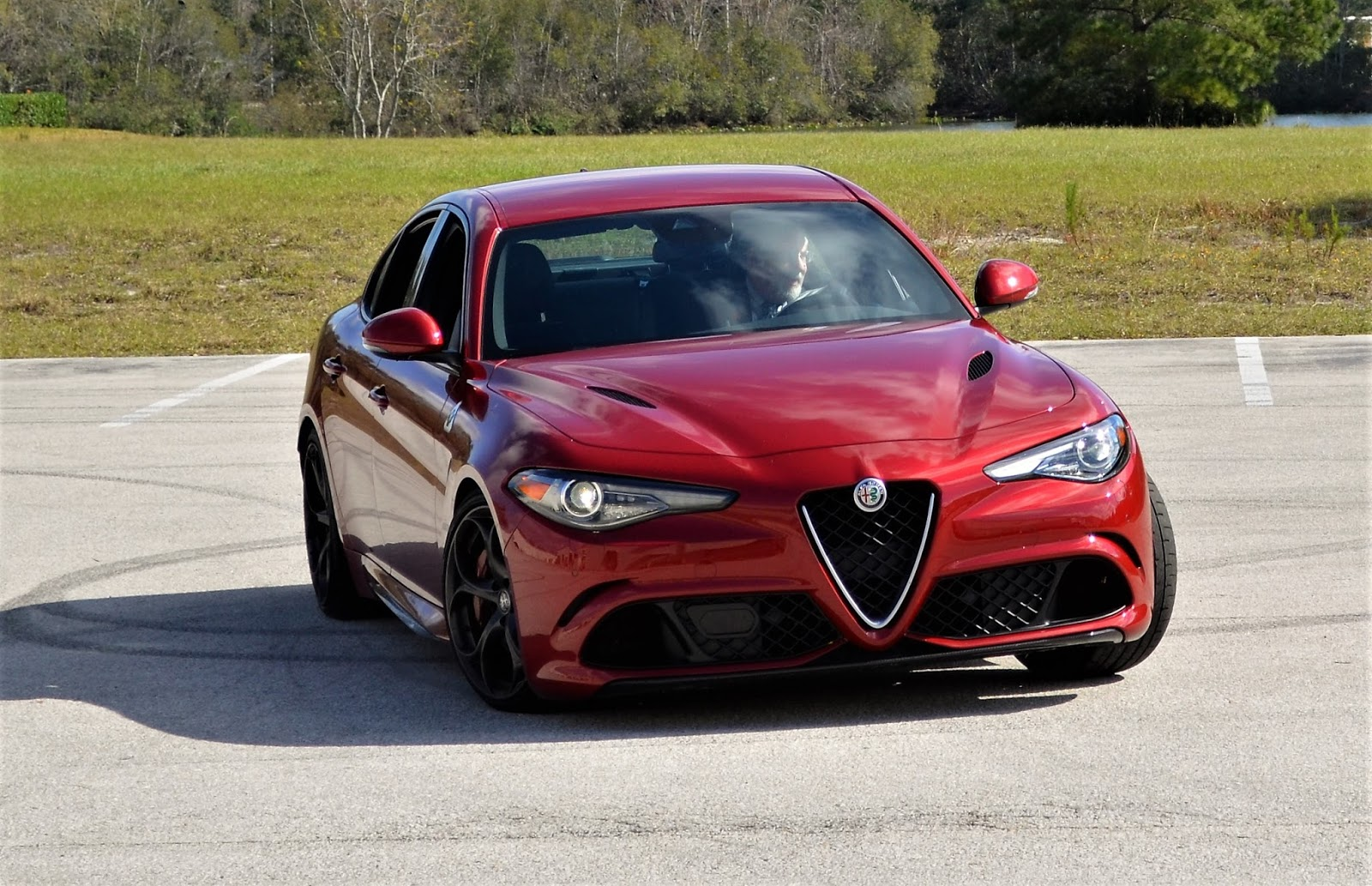 2017 Alfa Romeo Giulia 20T AWD Test  Review  Car and Driver
