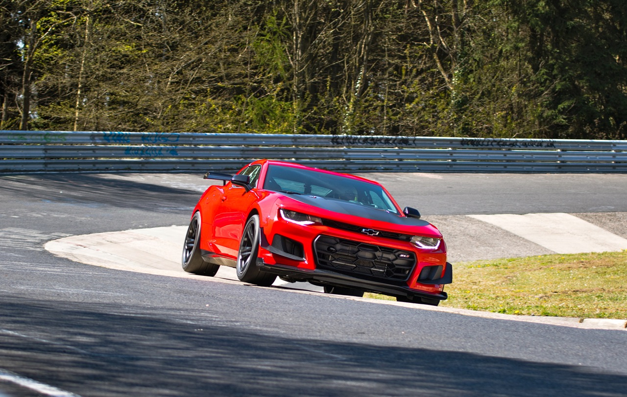 Camaro Zl Ring Time