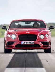 BENTLEY SUPERSPORTS: TOWARDS 200 MPH!