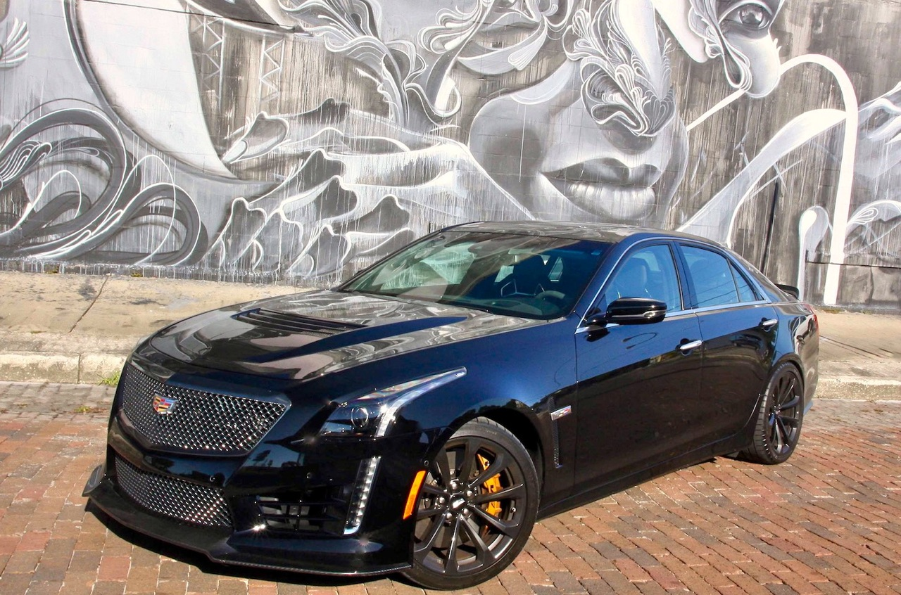 CADILLAC CTS-V: FEEL THE FORCE! - Car Guy Chronicles