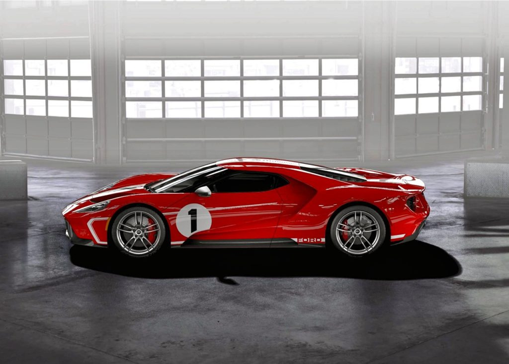 '18 FORD GT: '67 HERITAGE EDITION!