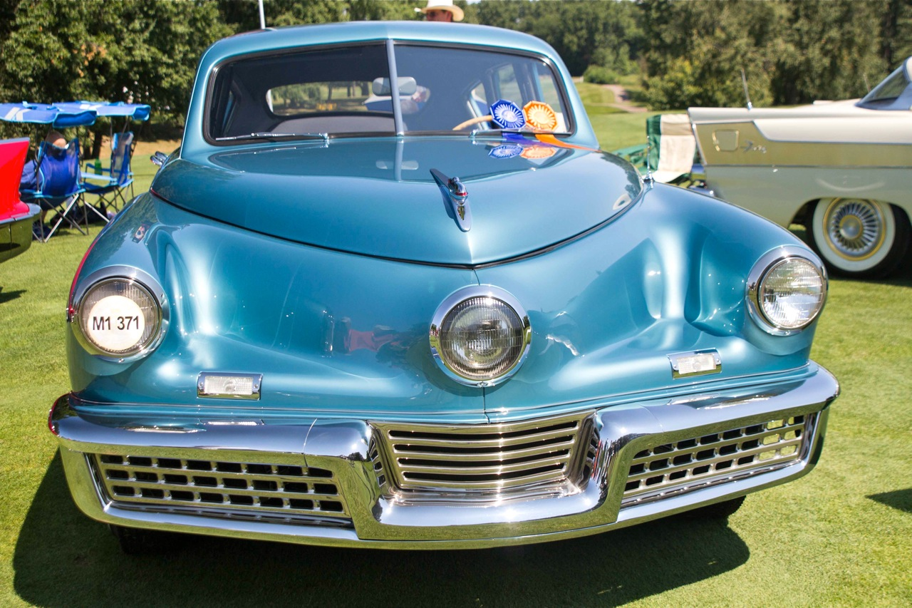 Vintage Automobile Front Center With One Headlight : Concours d elegance of america world class cars car