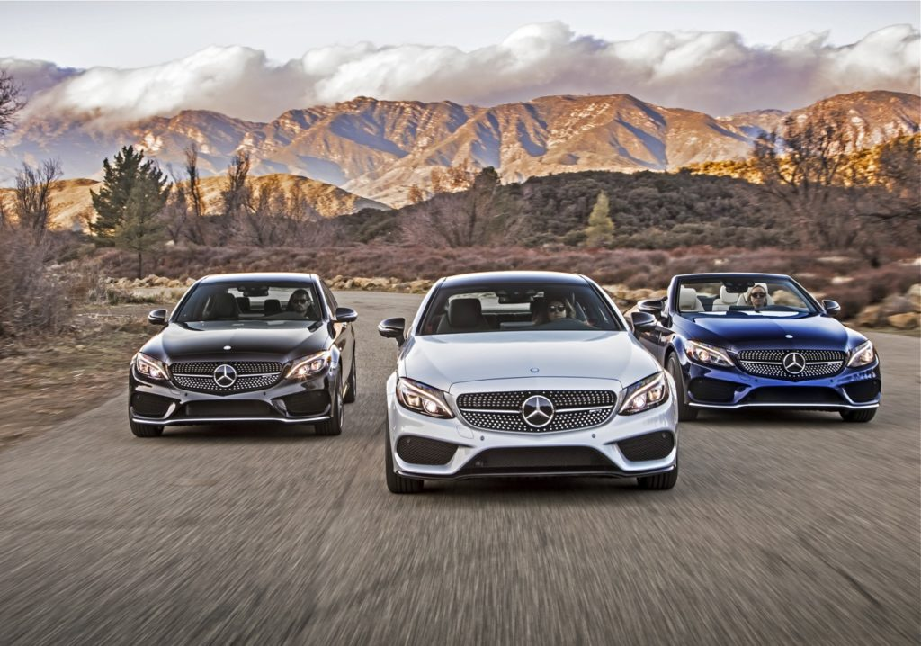 17 MERCEDES-BENZ C43 AMG: POINT & SHOOT COUPE