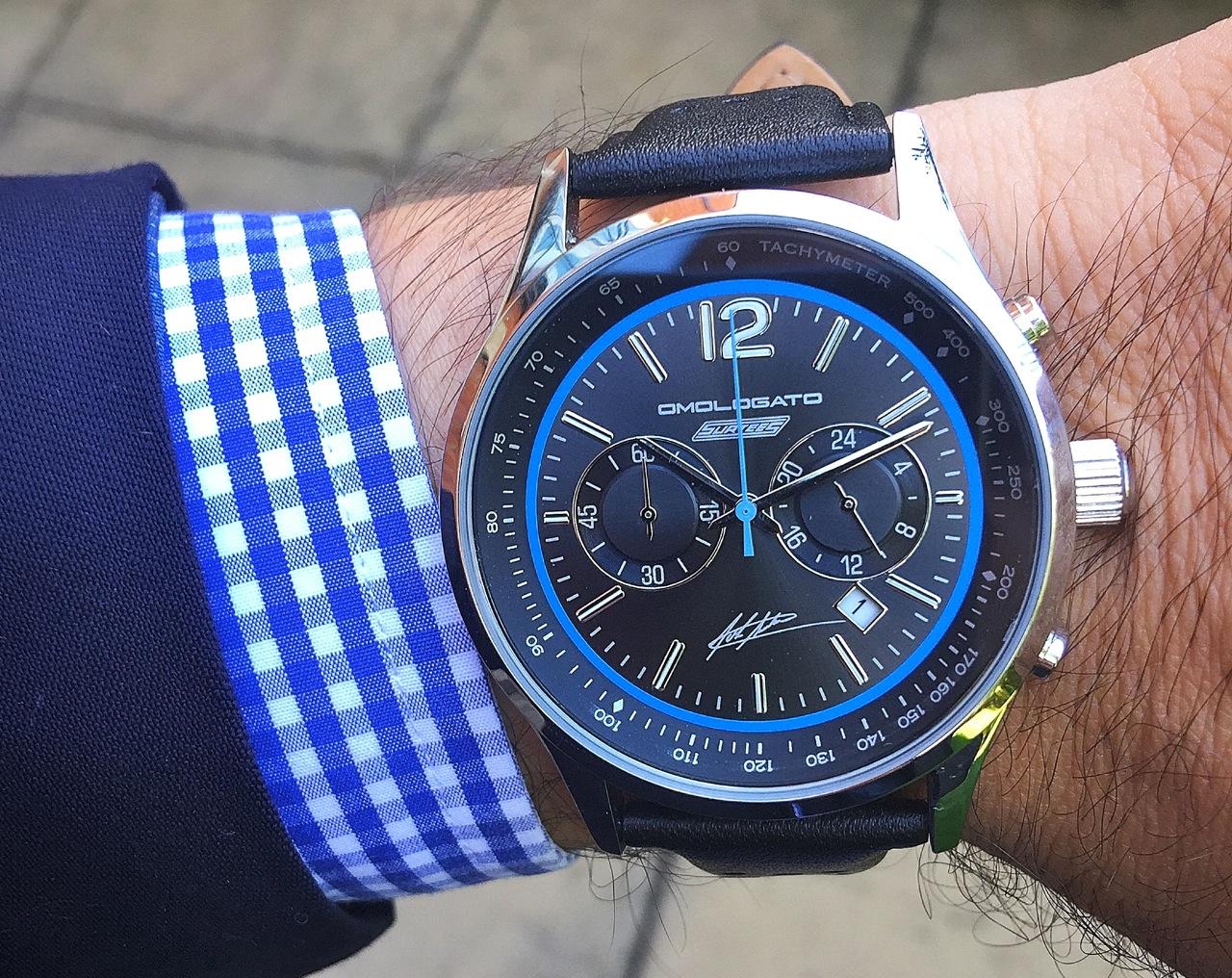 Omologato Chrono John Surtees Cbe Watch