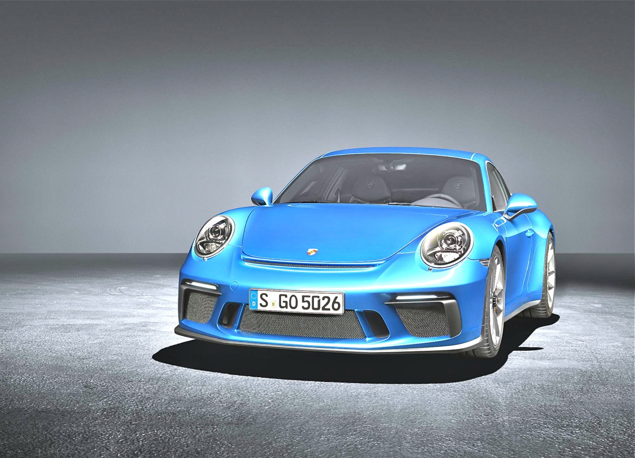 New  Porsche  Sport Design Package