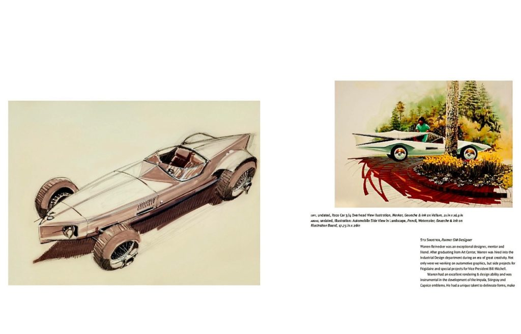 WARREN REINECKER AUTOMOTIVE ART