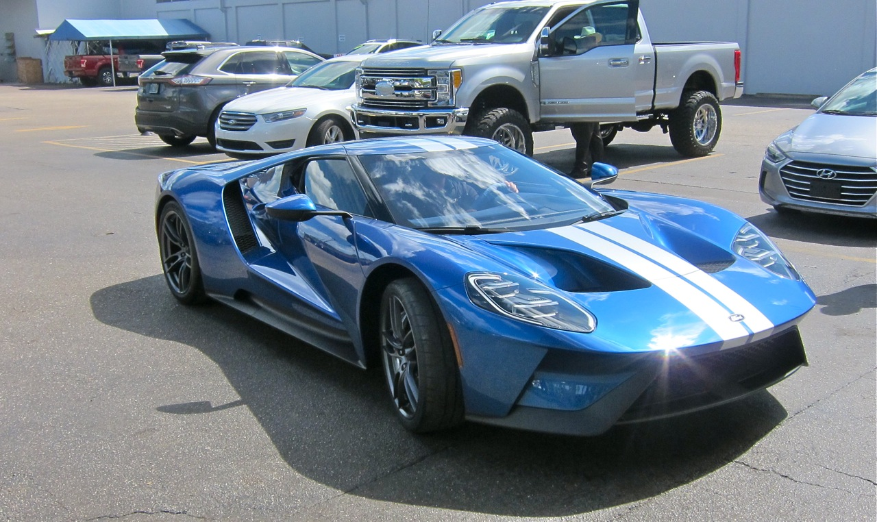 Ford Gt Americas Supercar