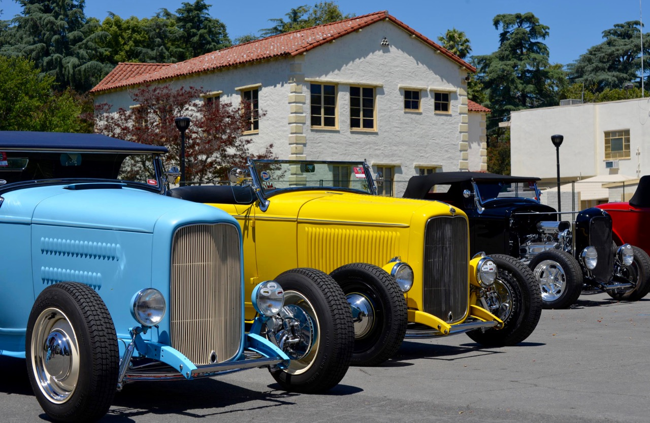 HOT ROD HEAVEN: 54th ANNUAL LA ROADSTER SHOW!