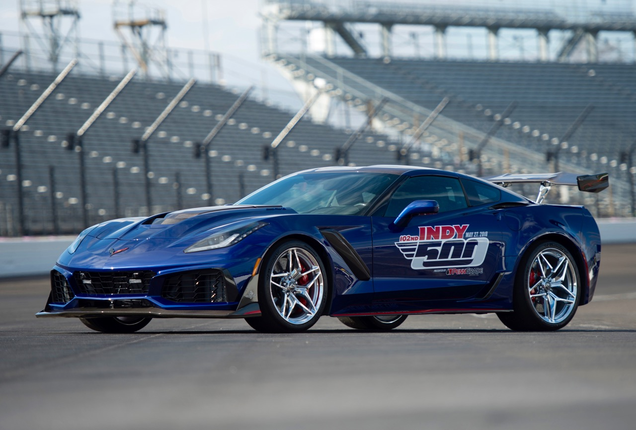 '19 Corvette ZR1: FASTEST VETTE EVER TO PACE INDY 500!