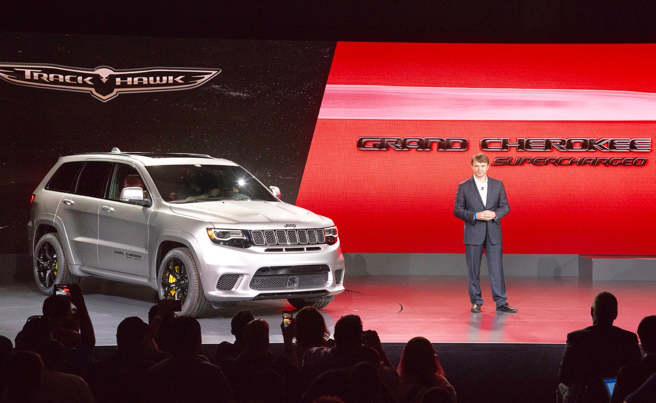'18 JEEP GRAND CHEROKEE TRACKHAWK: STEALTH SUPERCAR!