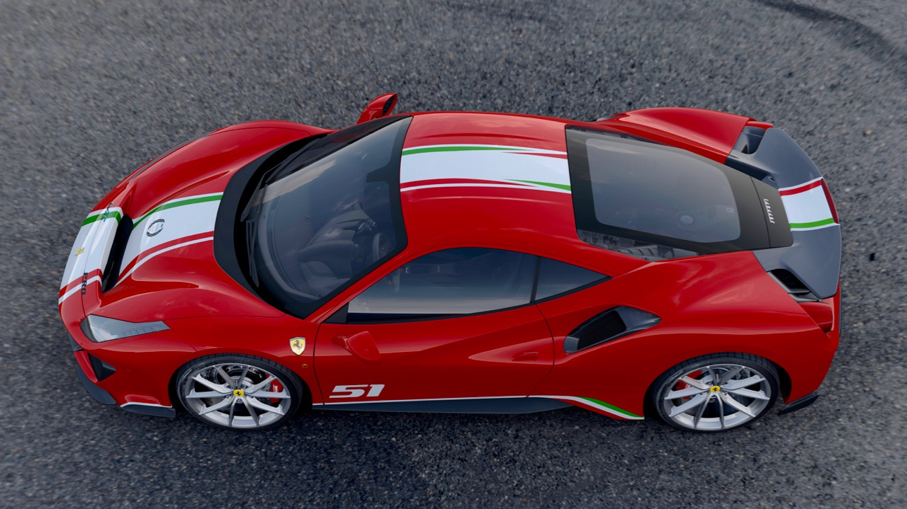 PILOTI FERRARI: TAILOR-MADE 488 PISTA
