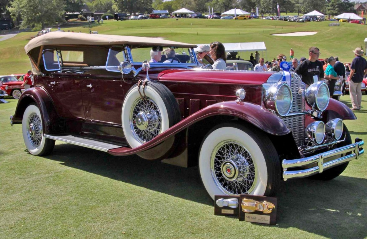 ATLANTA CONCOURS: EXCEPTIONAL CARS AT CHATEAU ELAN!