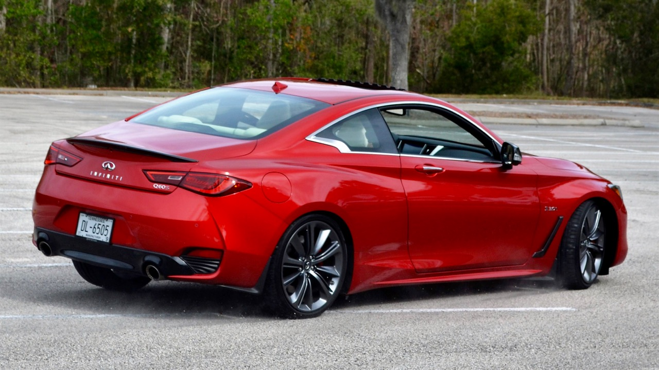'18 INFINITI Q60 RED SPORT 400: BOOSTED BEAUTY!