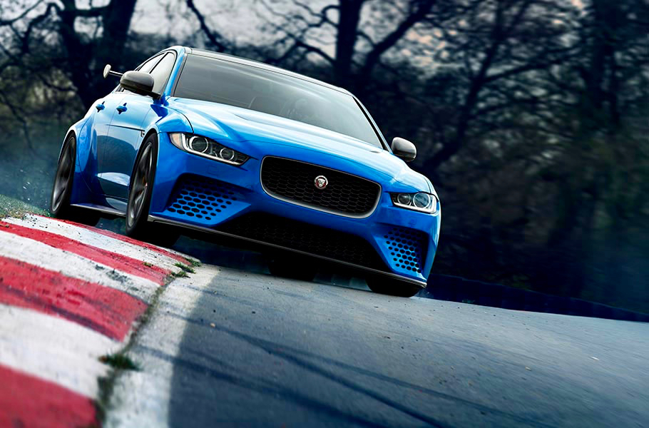 JAGUAR XE SV PROJECT 8: FOUR-DOOR SUPERCAR!