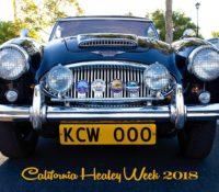 ZIPPY BRITS: CALIFORNIA HEALEY WEEK!