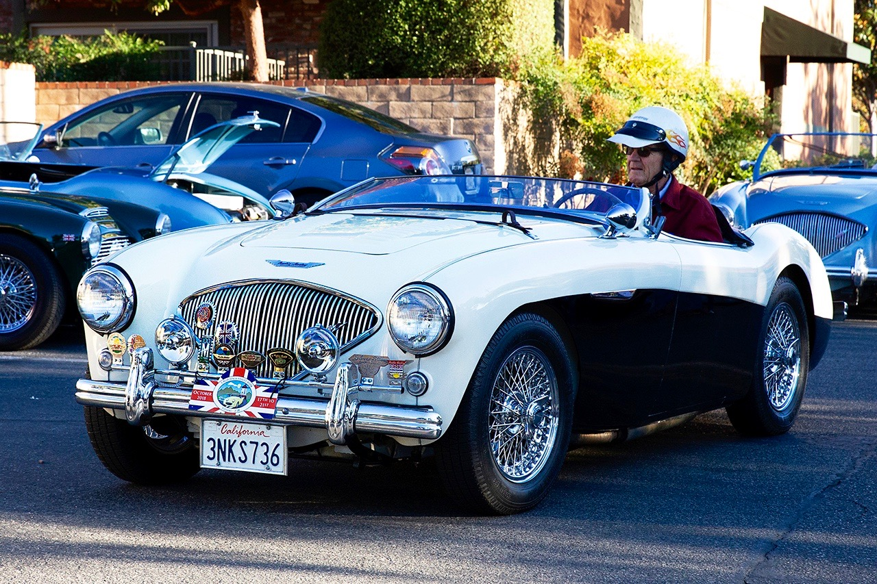 ZIPPY BRITS: CALIFORNIA HEALEY WEEK!