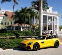 '19 MERCEDES-AMG GT C ROADSTER: CRUISING ON ISLAND TIME!