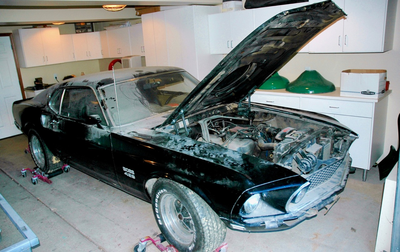 RARE FIND: '69 S-CODE BOSS 429 MUSTANG!