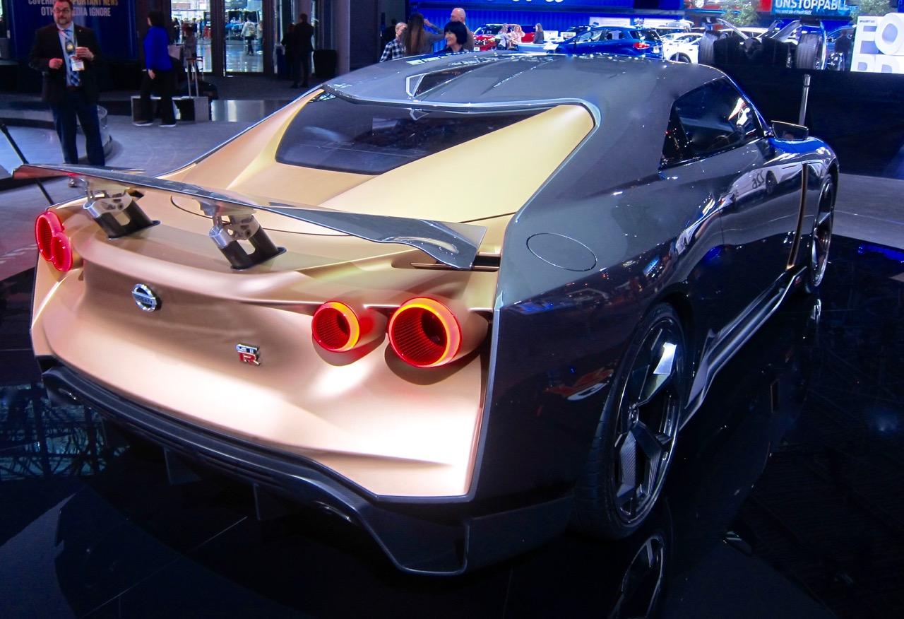 NY AUTO SHOW: NISSAN/ITALDESIGN GT-R50!