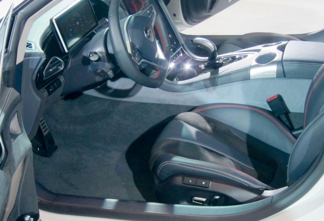 NY AUTO SHOW: QIANTU K50 ELECTRIC LUXURY SUPERCAR!