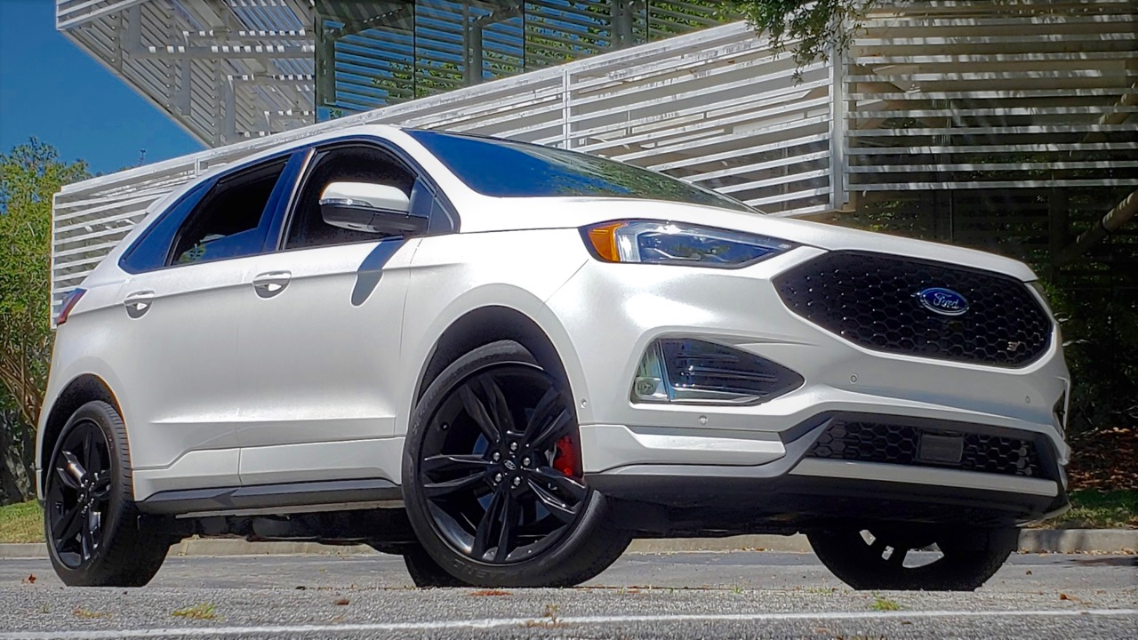 '19 FORD EDGE ST: ECO-BOOSTED CROSSOVER!