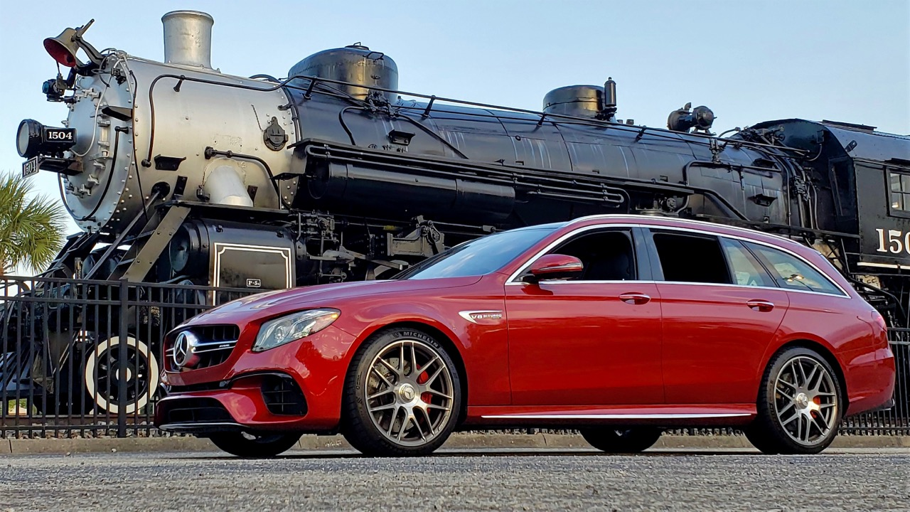 '19 M-B E63 AMG S WAGON: IT'S HAMMER TIME!