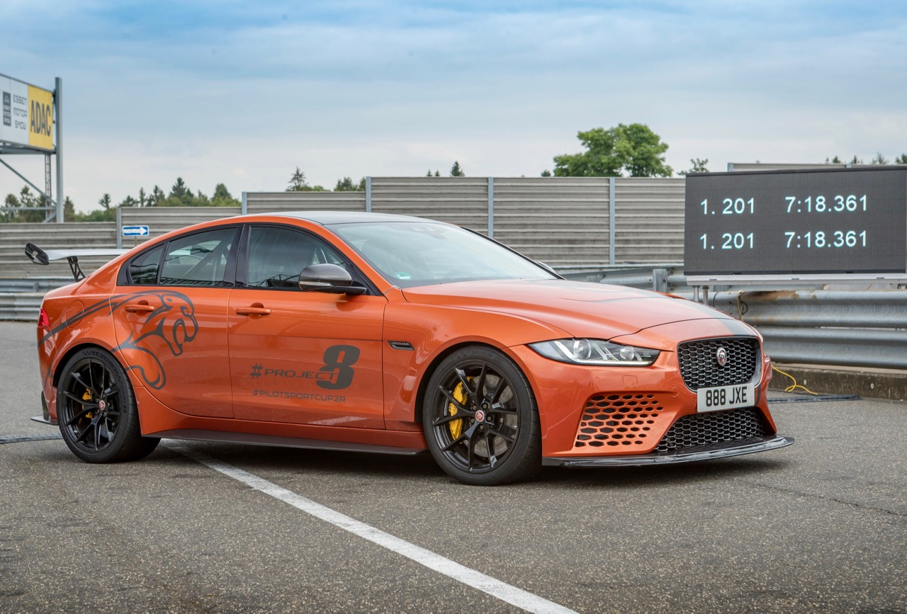 JAGUAR XE SV PROJECT 8: SUPERCAR SEDAN!
