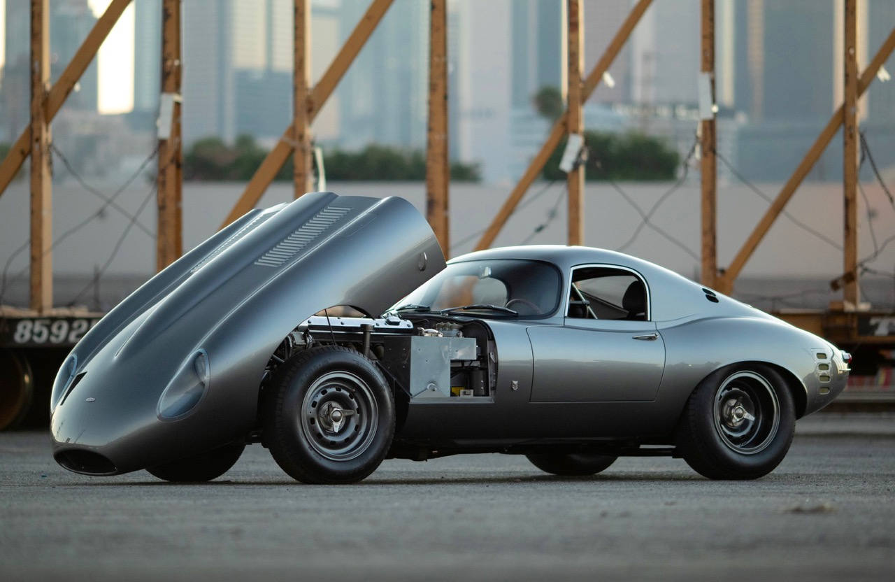 JAGUAR E-TYPE: LOW DRAG COUPE REDUX!