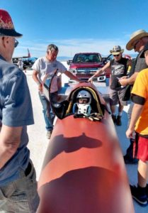 BONNEVILLE: A RACER IN NEED!