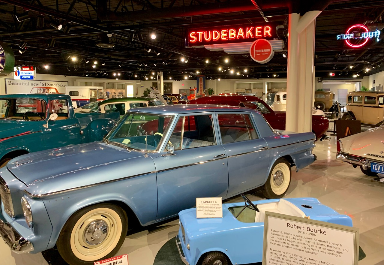 SOUTH BEND: STUDEBAKER NATIONAL MUSEUM.