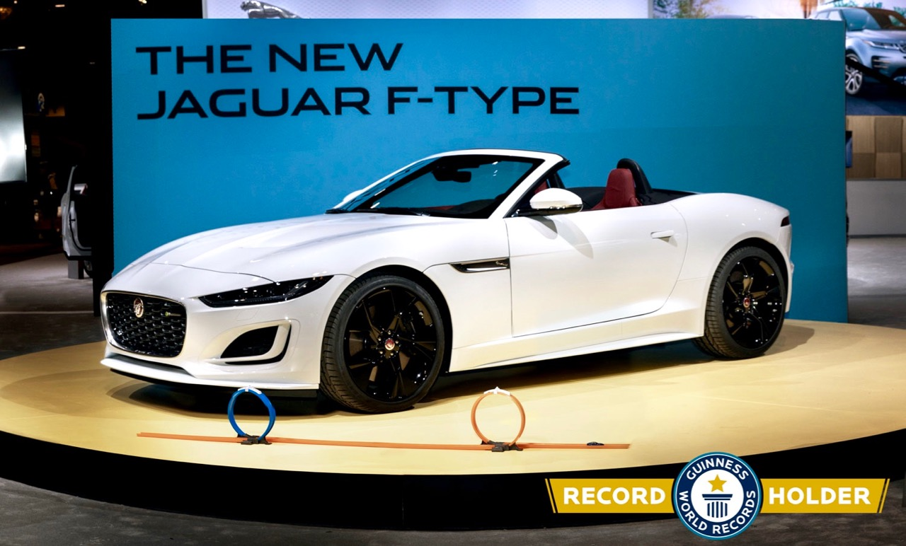'21 F-TYPE: JAGUAR SETS WORLD RECORD!