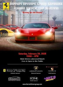 SARASOTA: EXOTIC CAR FESTIVAL 2020