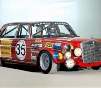 MERCEDES-BENZ: AMG RED PIG RACER