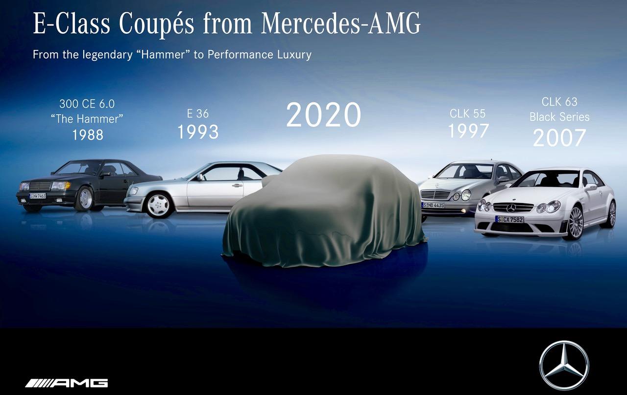 E-CLASS: MERCEDES-AMG SUPER COUPES