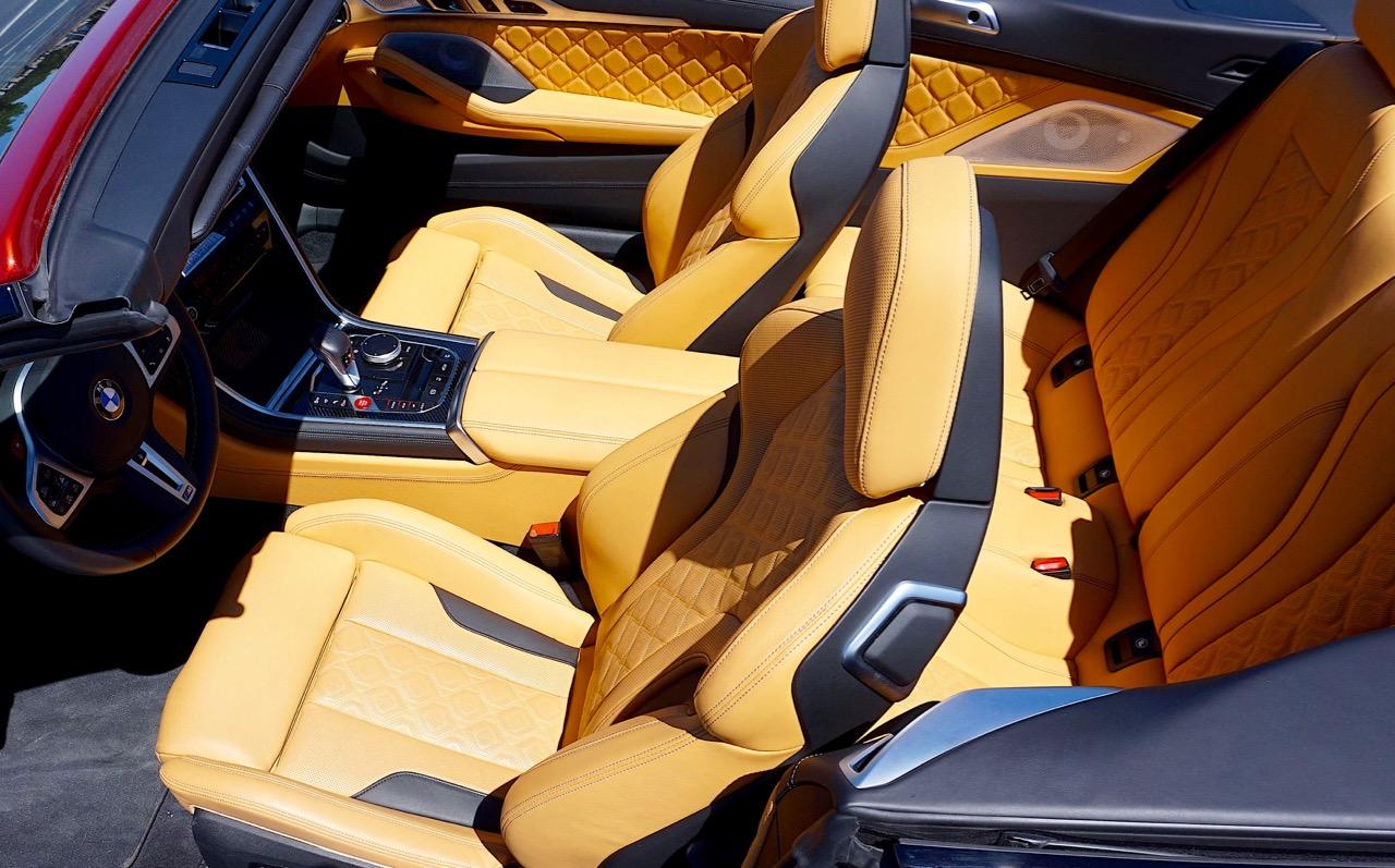 '20 BMW M8: SUNSHINE SUPERSTAR