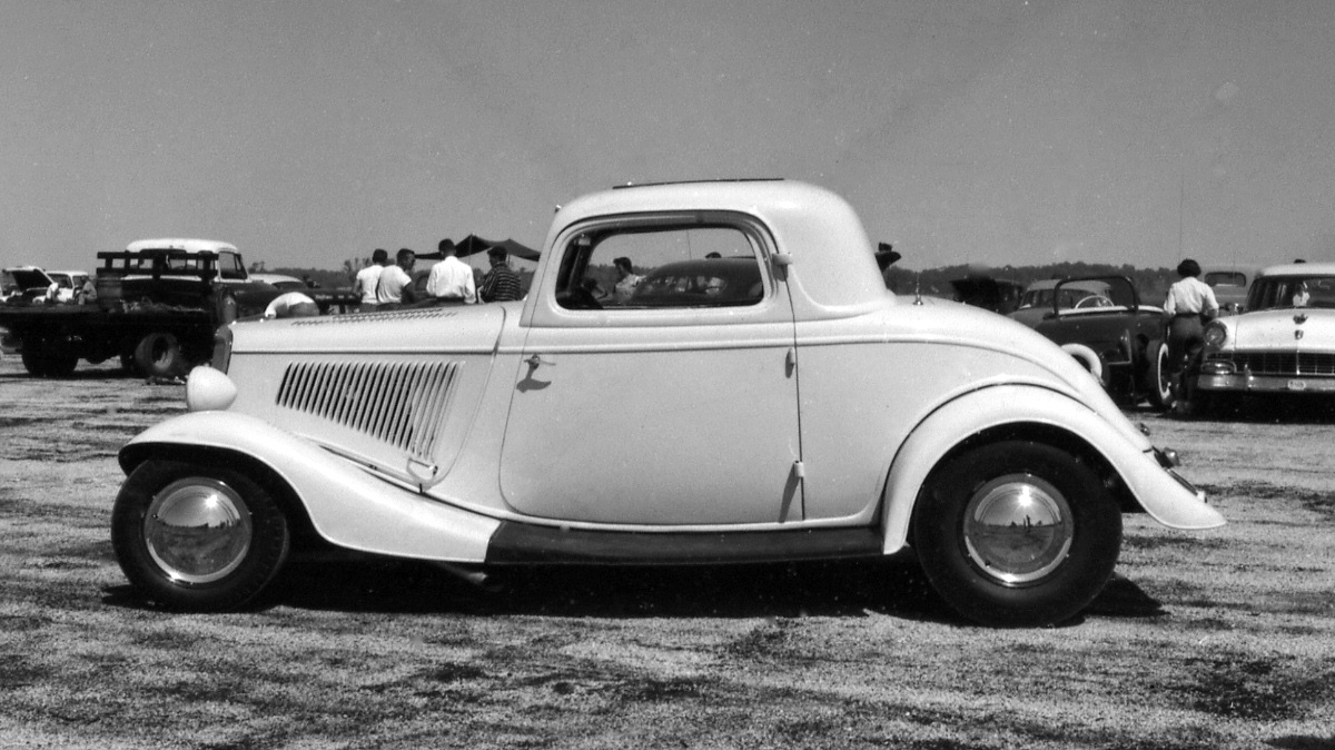 'OHIO GEORGE' MONTGOMERY: FIRST DRAG COUPE