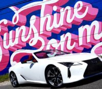 BRAWN AND BEAUTY: '21 LEXUS LC 500 CONVERTIBLE