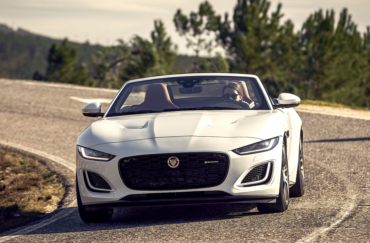 Seven years after launch, Jaguar has given its athletic F-Type two-seater a mid-cycle makeover to sharpen its lines and re-boot its appeal. Road Test Editor Howard Walker takes the 380-horsepower DYNAMIC DRIVING: '21 JAGUAR F-TYPE R-Dynamic for a spin.