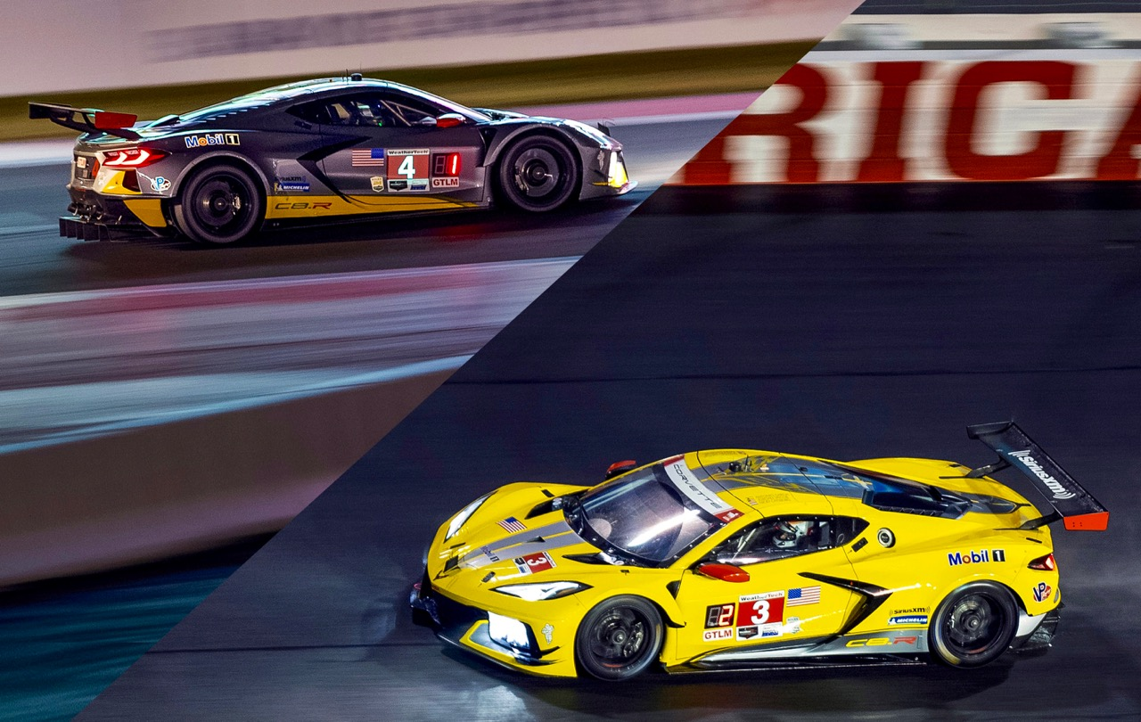 CORVETTE C8.R: UNSTOPPABLE STINGRAY