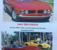 ISO GRIFO: CORVETTE POWER; ITALIAN SUIT!